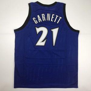 Kevin Garnett Minnesota Blue Basketball Jersey